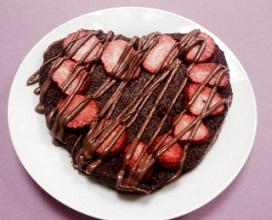 tarta de chocolate con psylium